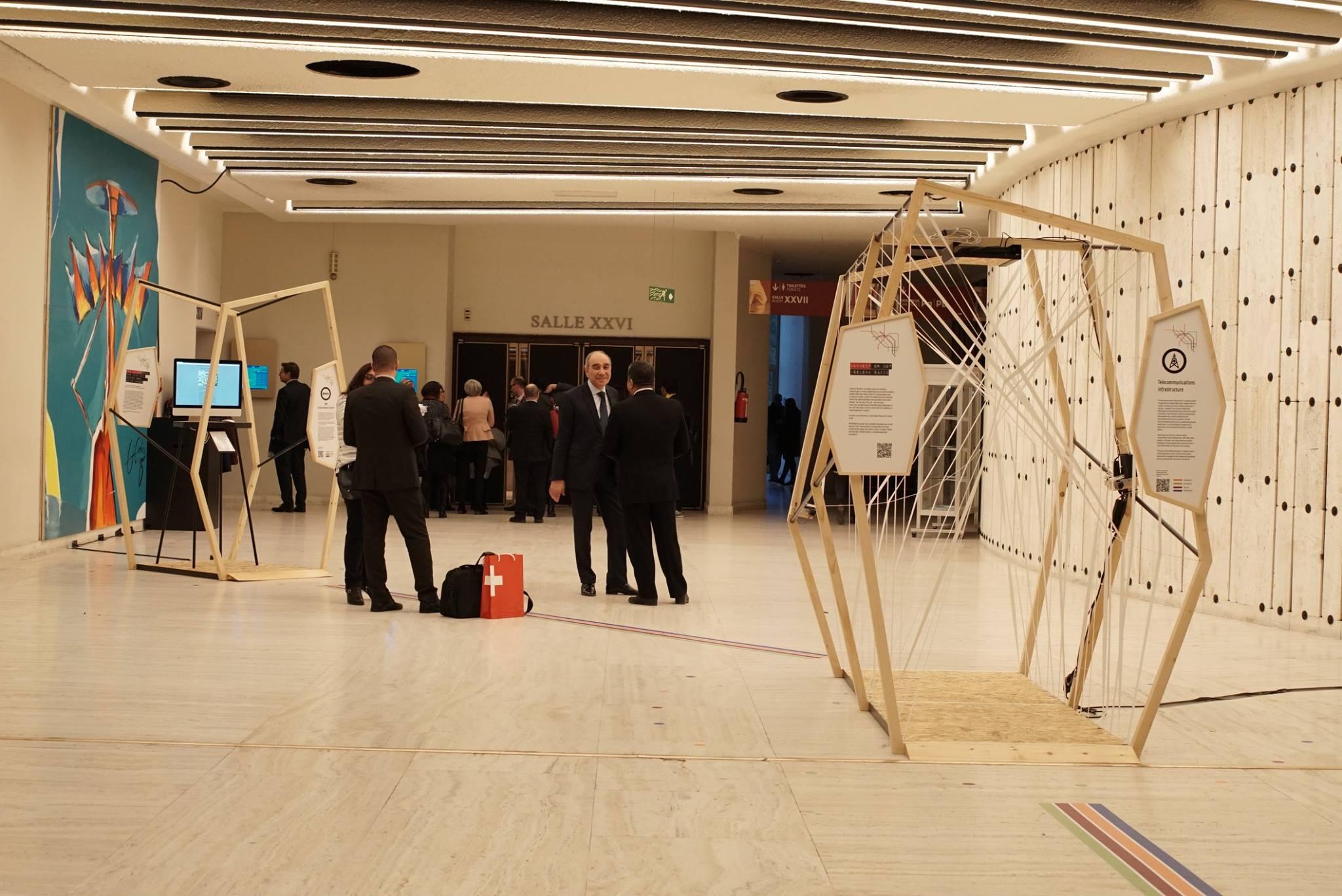 ART@IGF exhibition at the Internet Governance Forum 2017 Geneva