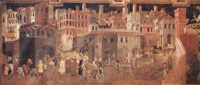 Ambroggio Lorenzetti, Effects of good government